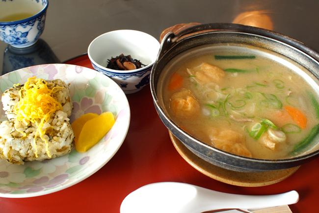 熊本の郷土料理 たご汁