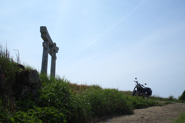 ST250 in 五島列島 宇久島