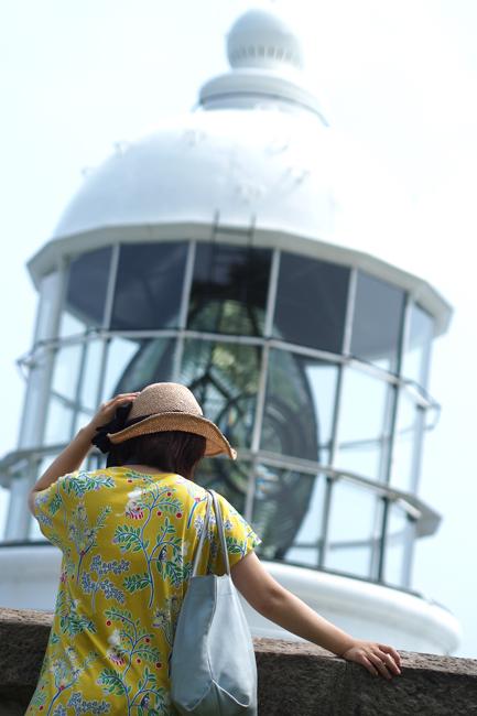 灯台と麦わら帽子