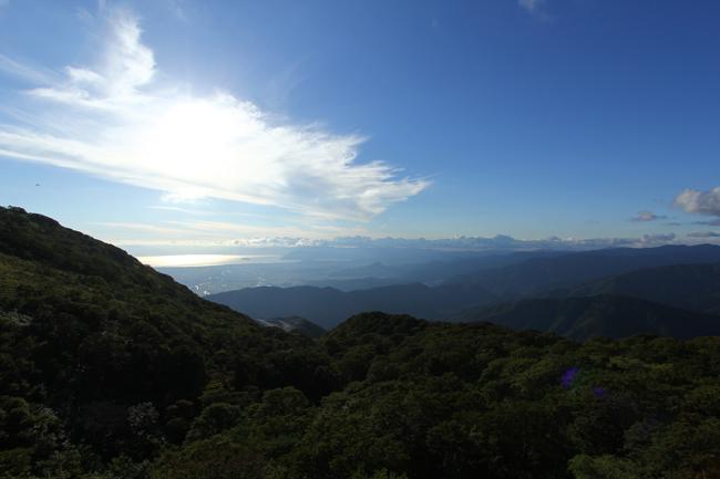 伊吹山からの眺望