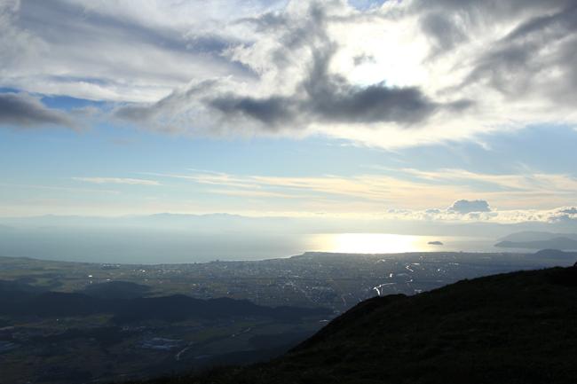 伊吹山からの望む琵琶湖
