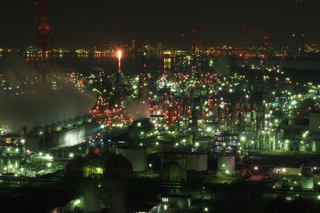 工場萌え 〜四日市工場夜景〜