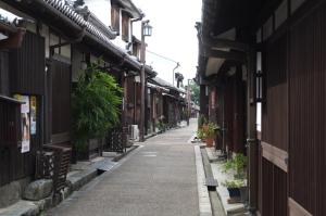 江戸時代の町並みが残る奈良県今井町を散策