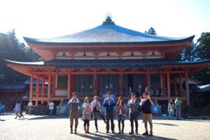 京都 比叡山に登ってきた