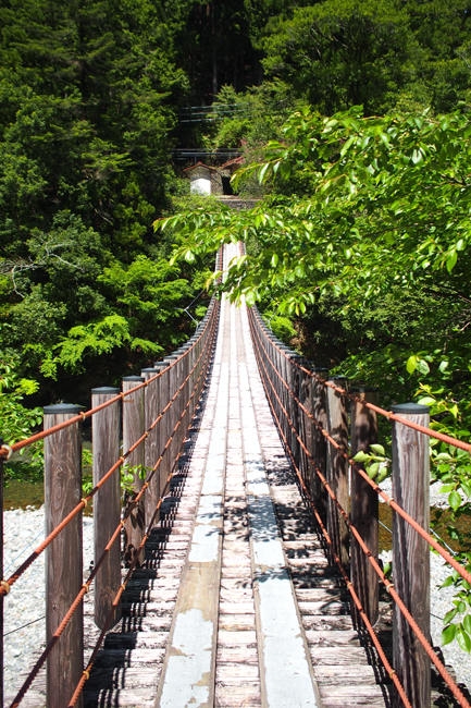 道の駅 龍神の吊橋