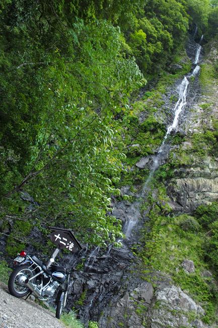 ST250 in 十津川村の十二滝