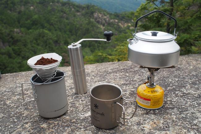 挽きたて淹れたて!山コーヒーを味わおう!