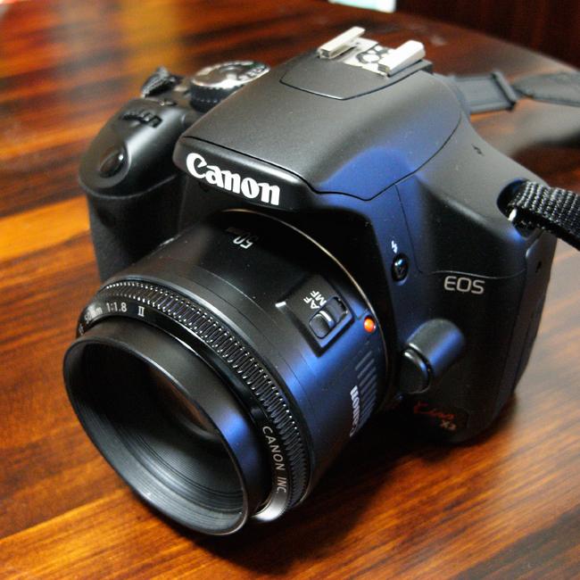 EF50mm F1.8 II