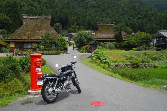 京都 周山街道ツーリング その2 美山 かやぶきの里編