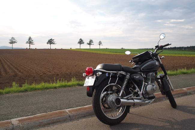 ST250 in 北海道 メルヘンの丘