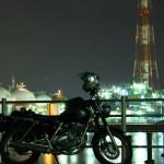 ST250と工場夜景 in 三重 四日市工場地帯
