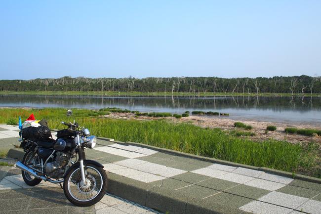 ST250 in 北海道 野付半島