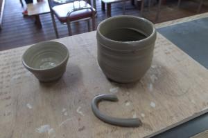 理想のコーヒーカップを求めて陶芸教室で自作してきた