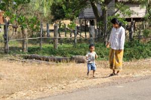 カンボジアの少年