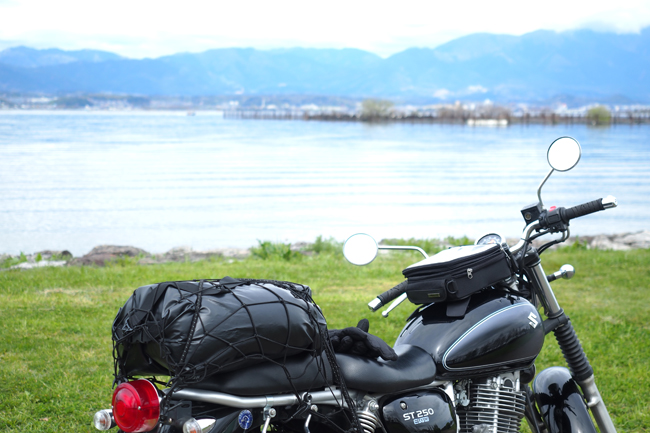 ST250 in 琵琶湖