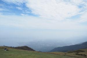 滋賀県 蓬莱山(びわ湖バレイ)に登ってきた