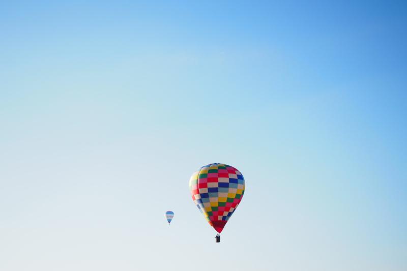第40回熱気球琵琶湖横断大会を見に行ってきた