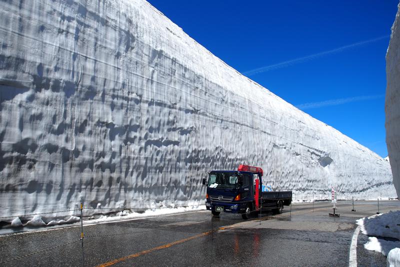 北陸ツーリング2017 その4 立山黒部アルペンルート・雪の大谷編