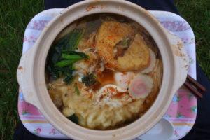 神奈川県丹沢 鍋割山の山頂で名物鍋焼きうどんを食べてきた