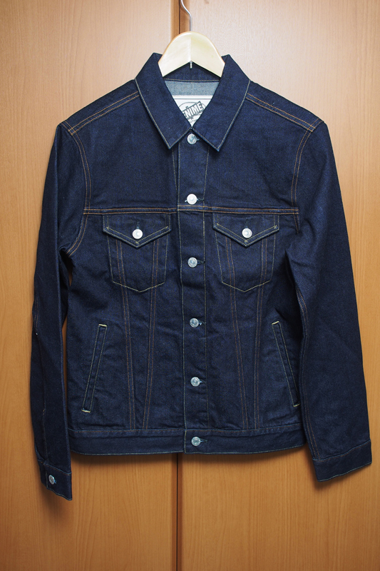 色落ちレポート Denime NEW PENCIL FIT DENIM JACKET 購入