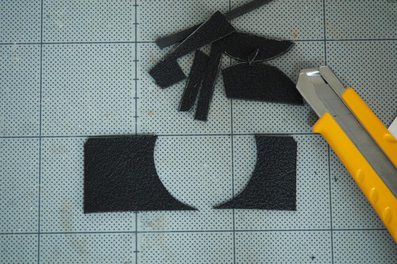 RX100の貼り革製作