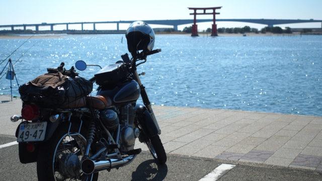 弁天島の赤鳥居