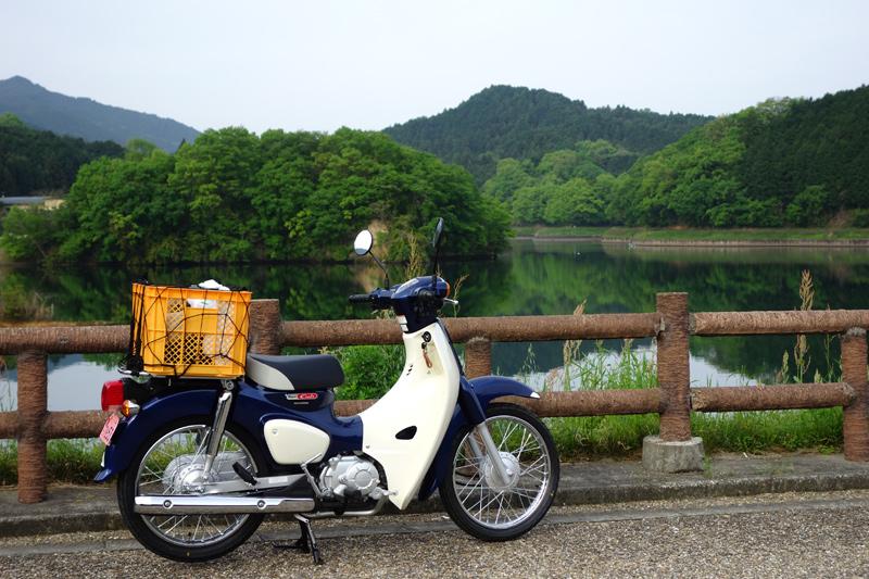 スーパーカブ110(JA44) in 倉橋ため池ふれあい公園
