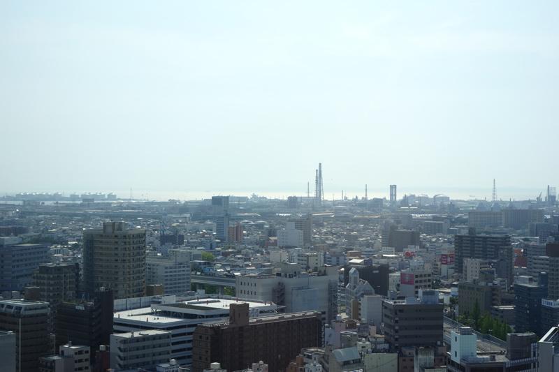 堺市役所展望台からの景色