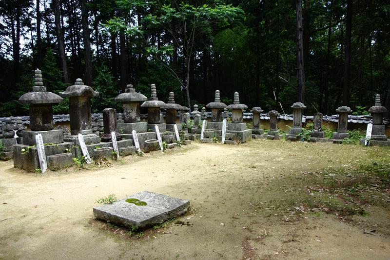 柳生家の墓