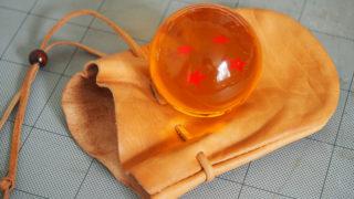四星球用レザー巾着袋の製作工程