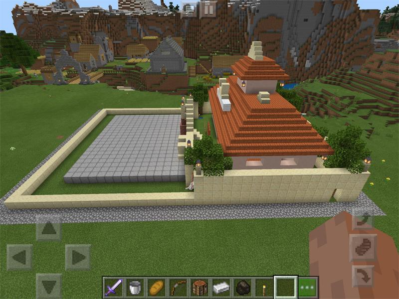 マインクラフトで天下一武道会場を建築