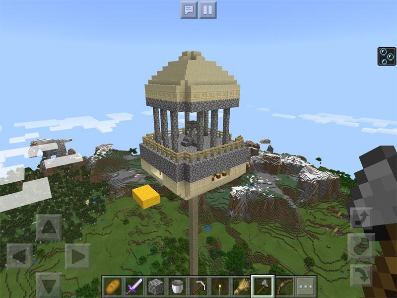 マインクラフトでカリン塔を建築