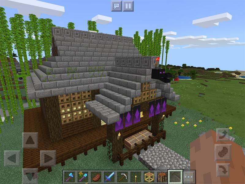 マインクラフトでドラゴンの卵を祀る神社を建築