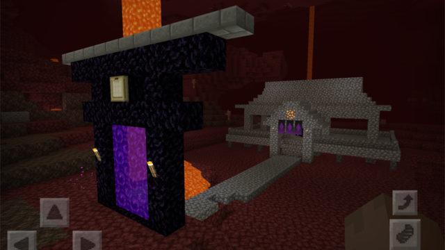 マインクラフトでドラゴンの卵を祀る神社を建築・地獄編