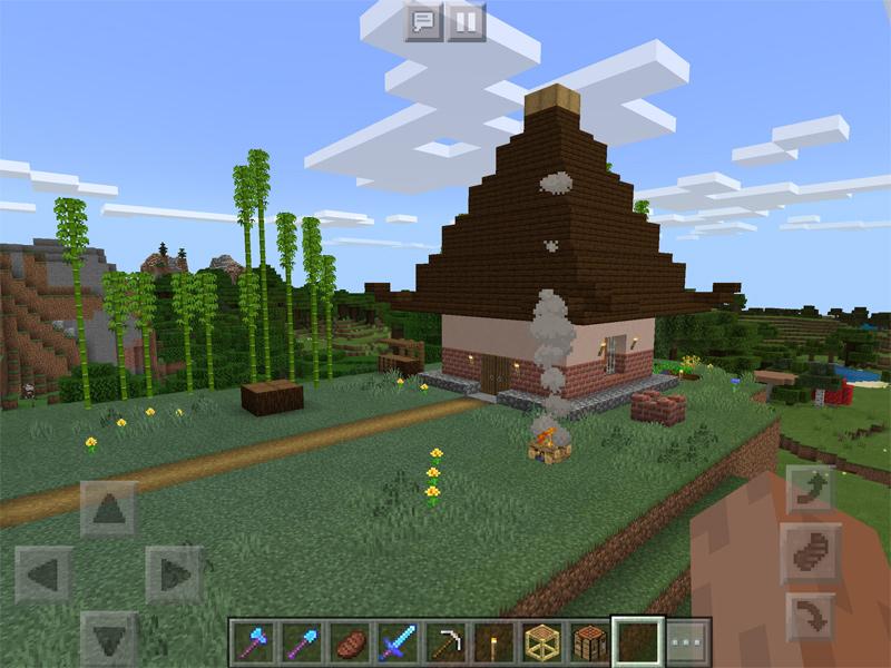 マインクラフトで孫悟空の家を建築
