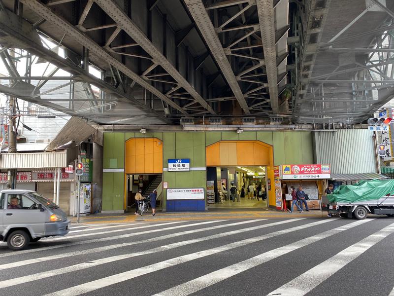 大阪環状線 鶴橋駅からスタート