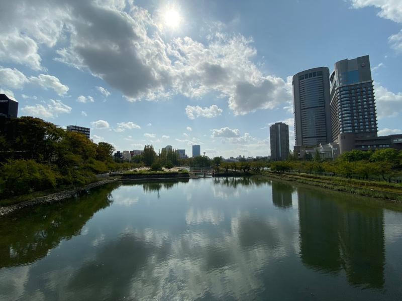 源八橋からの風景
