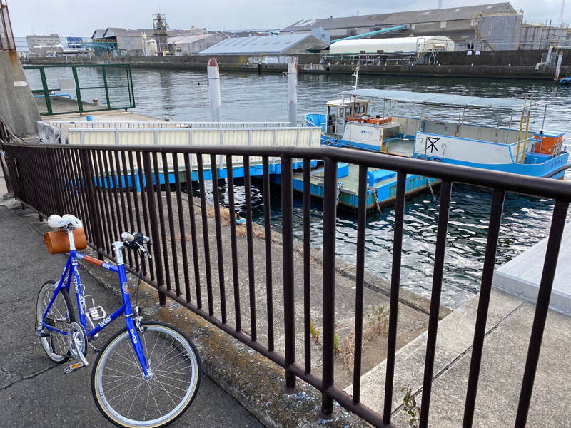 GIOS MIGNON in 船町渡船場