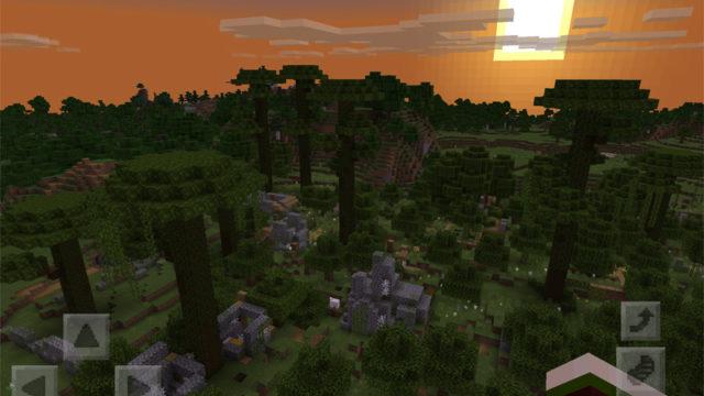 マインクラフトで無人の村を廃村・廃墟にリメイク