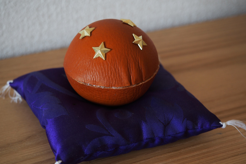 レザードラゴンボール(四星球)の製作工程