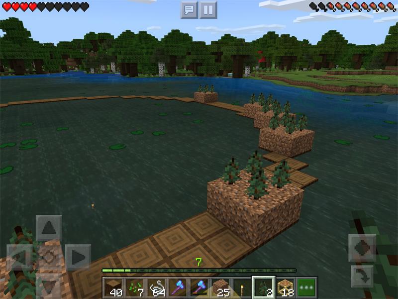 マインクラフトで世界樹を作る
