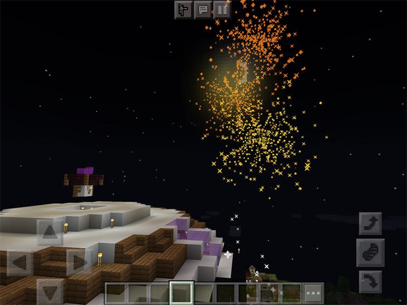 マインクラフトでフリーザと楽しむ打ち上げ花火大会