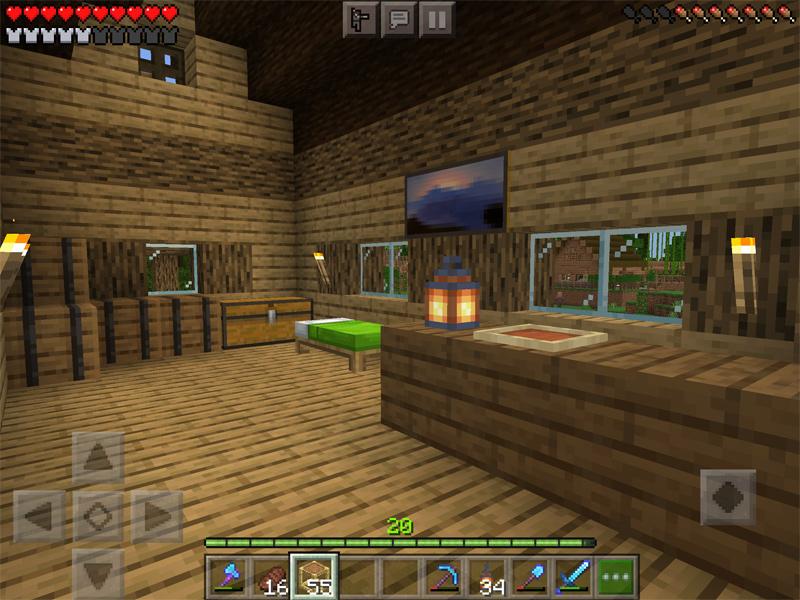 マインクラフトでキャンプ場を建築
