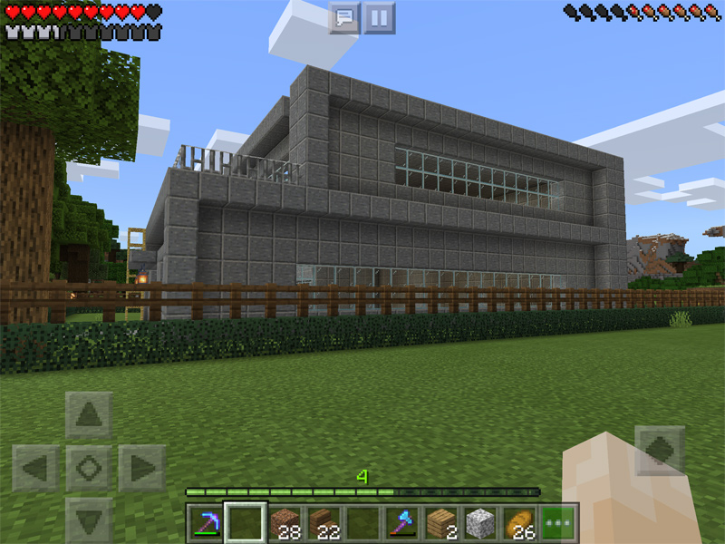 マインクラフトでスポーン地点に自宅を建築