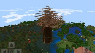 マインクラフトで世界樹を作る2