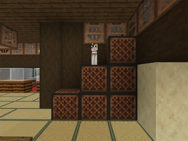 マイクラで自宅に和室を作る