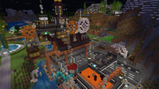 マイクラでスチームパンクな工場を建築2