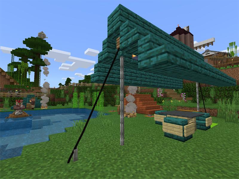 マイクラでキャンプ場を作る