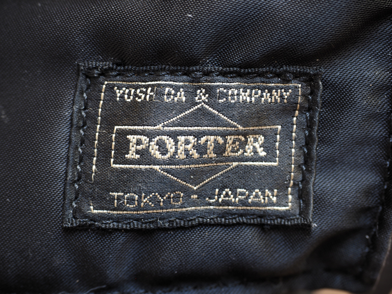 POTER TANKER リュックサックのエイジング